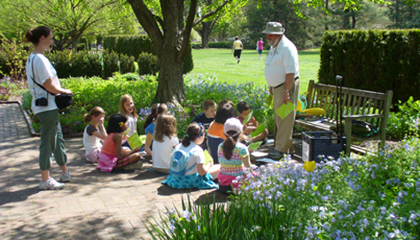 Linnaeus Teaching Garden; Story Time; Little Green Thumbs Program ...