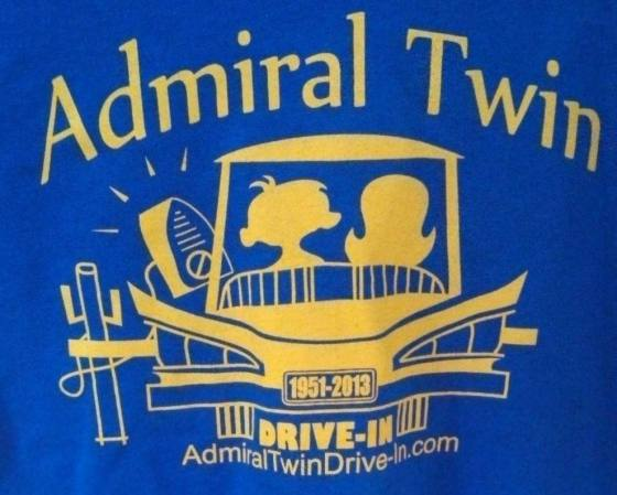 admiral twin drive in logo