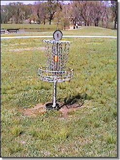 hunter park frisbee golf course