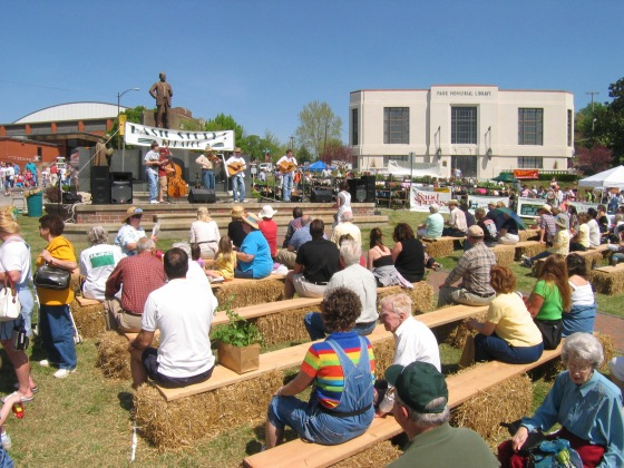 music performances at sand springs herbal affair