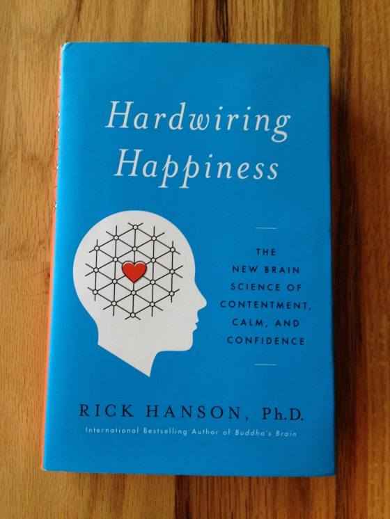 Hardwirng for Happiness book cover pic