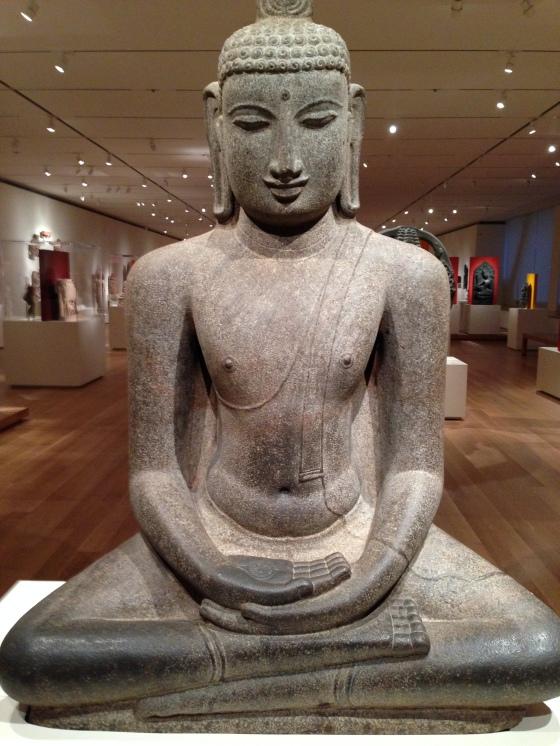meditating budda