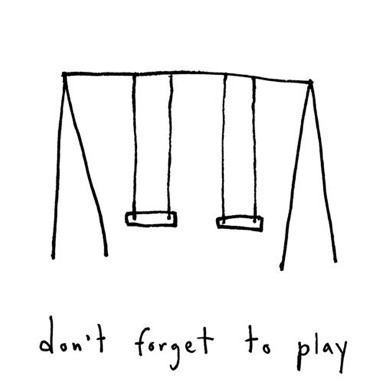 play don't forget to play pic of swing set
