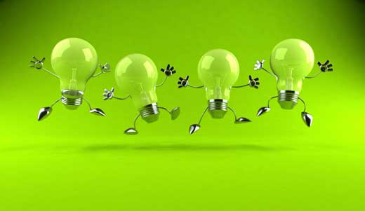 light bulbs green with hands and feeds jumping up clip art may 14 2015