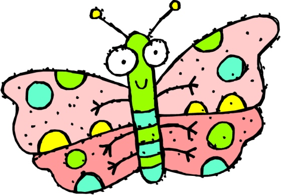 butterfly animated smiling pink with poka dots butterfly note for board.docx - source